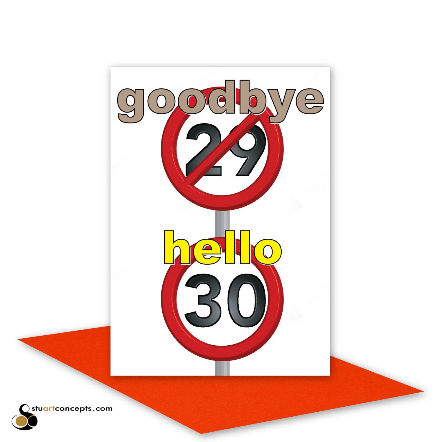 Funny 30th Happy Birthday Card for him for her 30 birthday – Personalised 40th Birthday Cards for Men