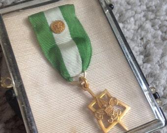 Boy Scout's Scouter's Award No. 5102 in Original Case