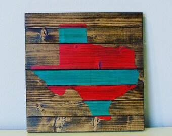 Texas Wall Art, Rustic Texas Pallet Wall Art, Texas Decor, Texas Wall Art, Texas Wall Art, Texas Pallet Decor, Texas Decor, Wood Wall Art