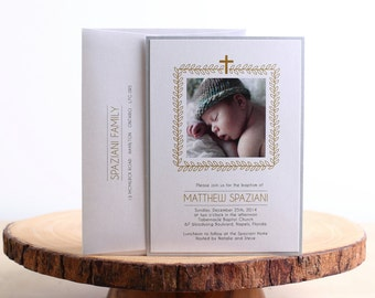 Baptism Invitation- look 16