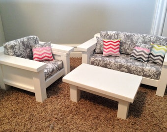 american doll furniture 18 doll size 3 pc by