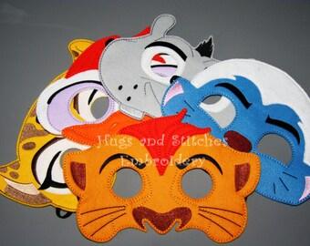 Lion force inspired Masks