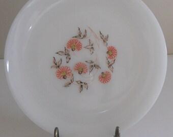 Fire King Fleurette Salad Plates