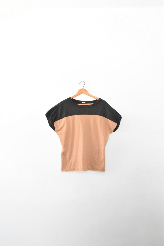 80s colorblock tee size adult unisex medium 80s tee for Adult medium t shirt