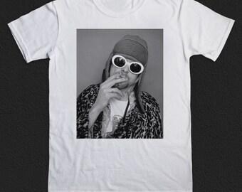 Kurt Cobain mens tshirt