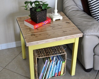 New! - Farmhouse Side Table - End Tables