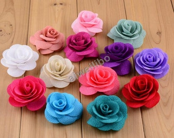 Rose Flower, Flower Headband, DIY Headbands, Baby Flower H100023