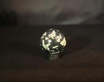 Chinese Writing Stone Sphere # 788