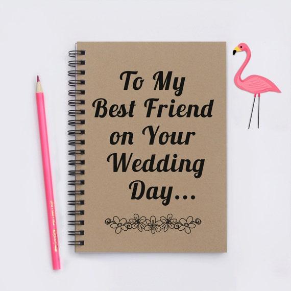 Best friend wedding gift, To My Best Friend on Your Wedding Day, 5