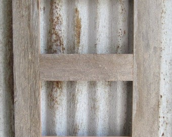 Multi Opening 4x6 Barn Wood Collage Picture Frames - Many Colors and Options