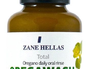 OREGAWASH.Total MOUTHWASH.Daily Oral Rinse-30ml.Helps on Gingivitis,Plaque,DryMouth,BadBreath&Throat infection.Natural Antibacterial