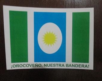 Bandera Orocovis Puerto Rico Sticker Decal Flag Pueblo ¡Orocoveño, Nuestra Bandera!