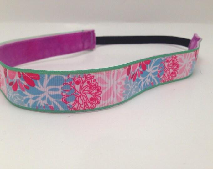 Nonslip Headband Pastel Flowers