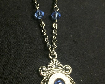 Hannah - Winchester Beaded Bullet Casing Necklace