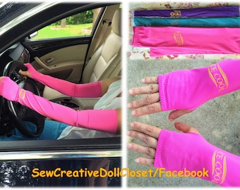 UV protection driving gloves