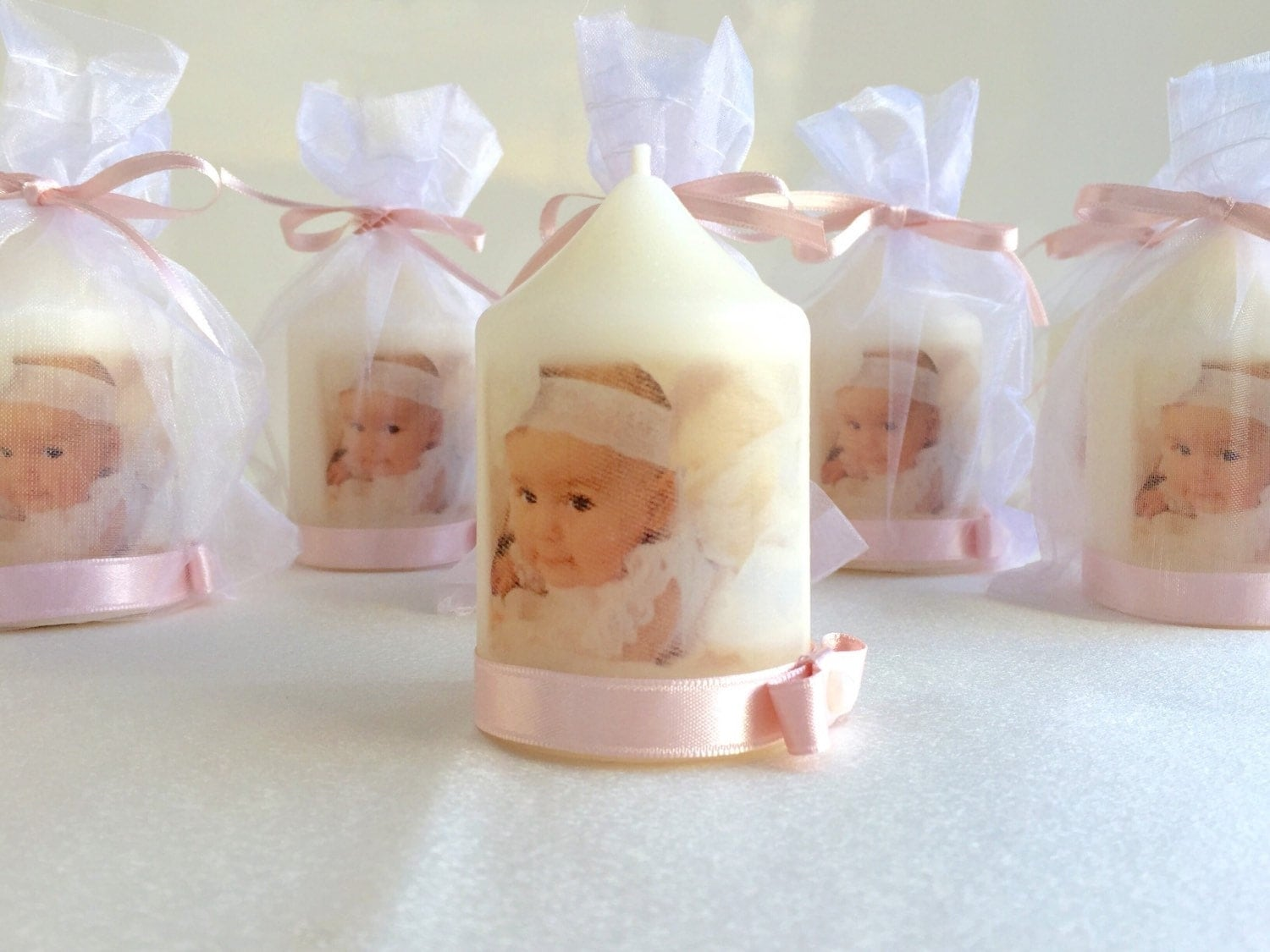 Baptism candle baptism favors christening favors - Giveaways baptism ...