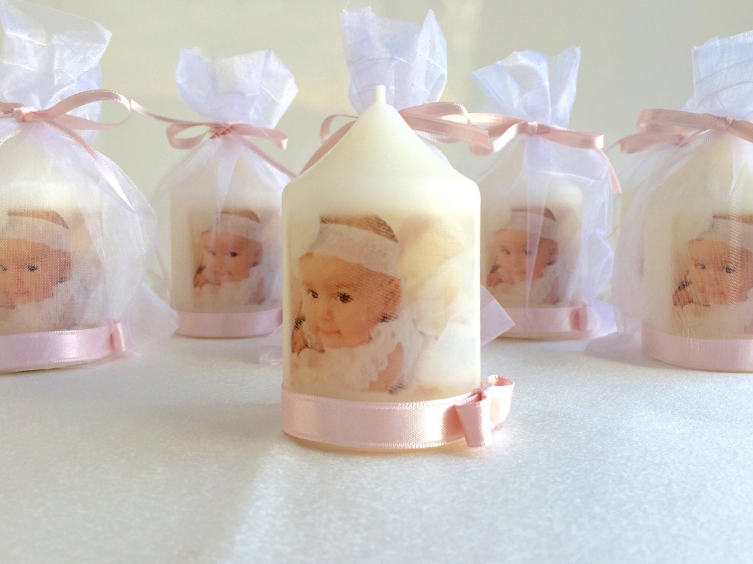 Baptism Candle Baptism Favors Christening Favors