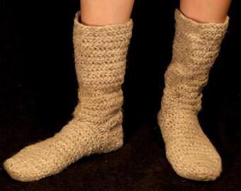 Nålebinding, Naalbinded Socks, Naalbinding Socks, Viking Socks, Medieval Clothing Reconstruction