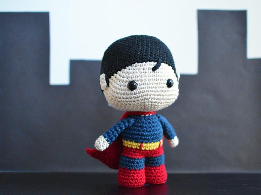 Baby Superhero Crochet Pattern Superman Crochet Pattern