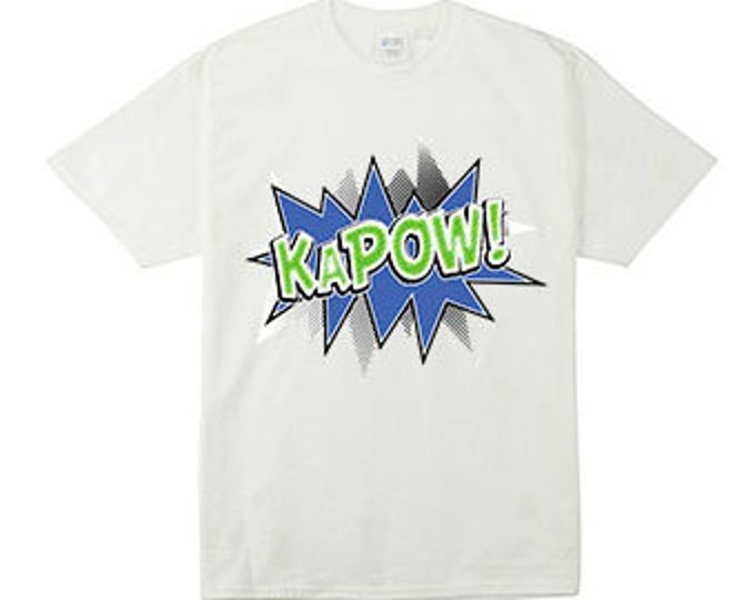 Kapow Action Bubble T-Shirts for the Whole Family