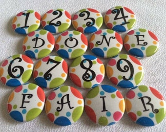 Number Magnets - Classroom Number Magnets - Magnetic Numbers - Teachers Tools - Homeschool Family - Preschool Fun - Counting Magnets