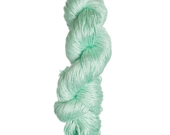 Milk-Bamboo Yarn - Bulky Weight - Pastel Green