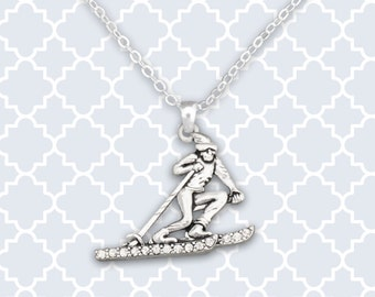 Skiing Necklace - 53334
