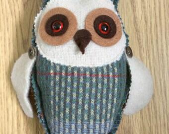 Little woolly owl