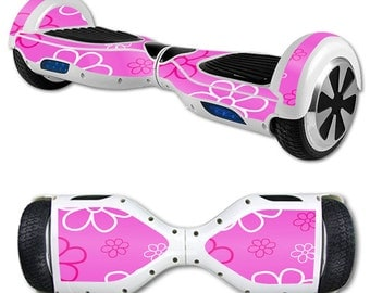 Skin Decal Wrap for Self Balancing Scooter Hoverboard unicycle Flower Power