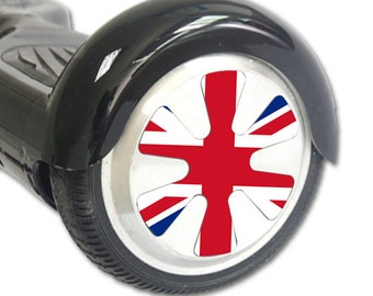 Skin Decal Wrap for Hoverboard Balance Board Scooter Wheels British Pride