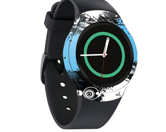 Skin Decal Wrap for Samsung Gear S2, S2 3G, Live, Neo S Smart Watch, Galaxy Gear Fit cover sticker Hip Splatter