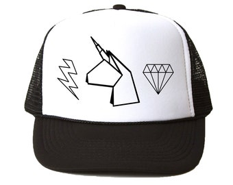 Unicorn Life Trucker Hat - Youth and Adult