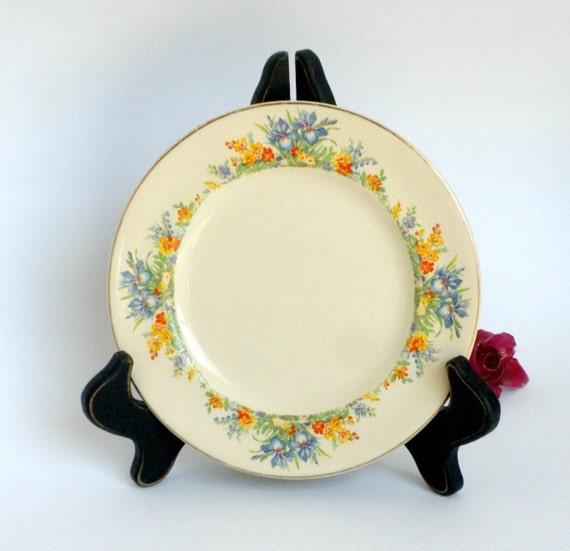 Trinket dish victorian pattern by johnson bros england silverdale