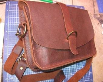Kodiak Sides Leather, Shoulder Bag Crossbody Bag Leather Satchel Bag