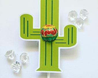 Cactus  lollipop holders