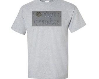 Softball Grandma Shirt, Softball Grandma Bling Shirt, Softball Grandma, Softball Grandma Rhinestone shirt, Softball Shirt for Grandma, gift