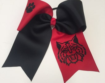 Wildcat Cheer Bow