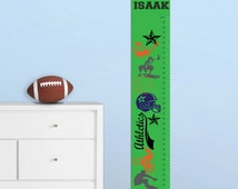 Personalized Super Sport Height Chart