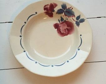 Vintage Digoin Sarreguemines plate