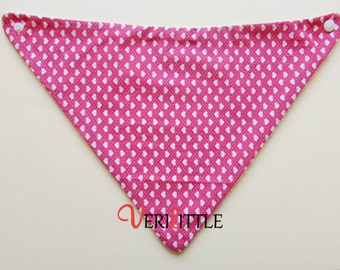 Secababitas Pink/White hearts