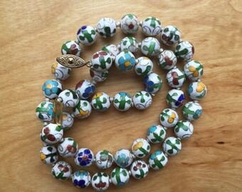 Chinese Enamel Beads -- 712