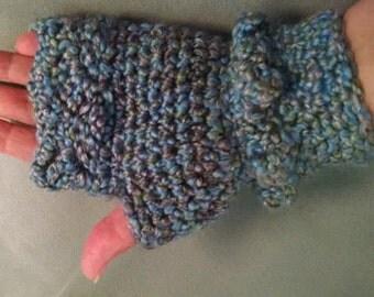 Becky B's Crocheted Fingerless Gloves