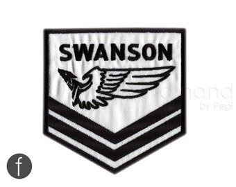 Parks and Rec. Swanson emblem Iron On Patch
