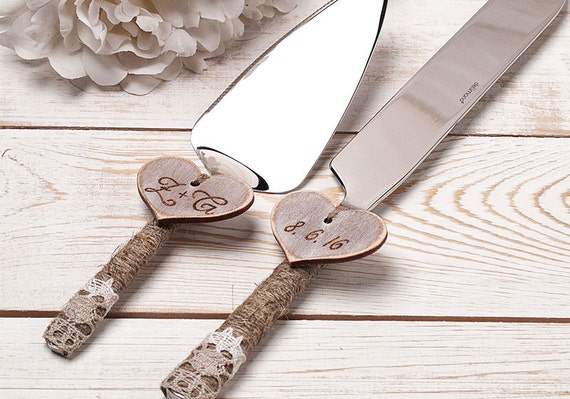wedding cake serving set personalized wedding cake server and knife cake serving set cutting set 24304
