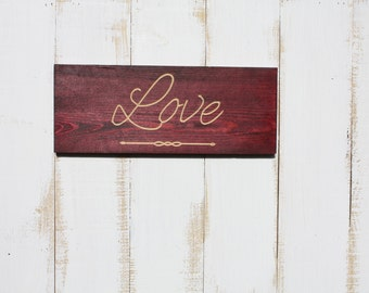 Love Word Wall Art