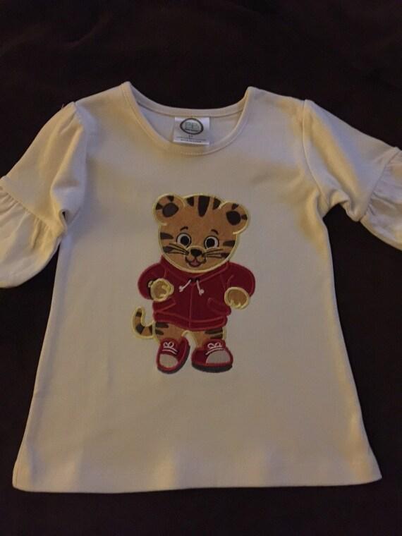 Daniel Tiger Shirt Boys Custom Made Shirts Girls Custom Made