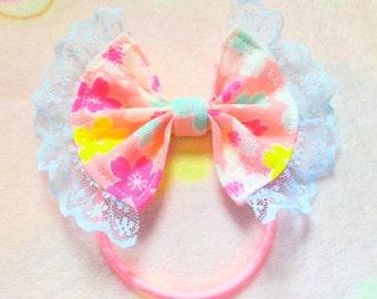 Pink Sakura Hairbows