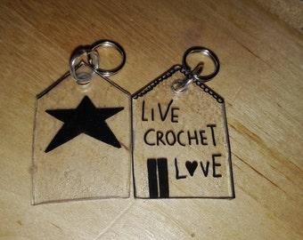 2 stitch markers-markers for knitting-2 stitch markers knitting accessory