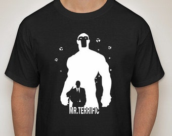 Mr. Terrific Silhouette T-Shirt