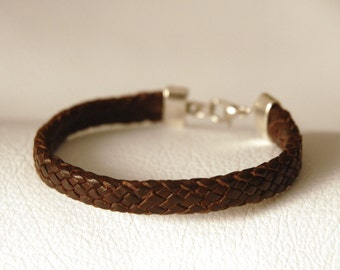 Leather Bracelet, 1 of a kind, 17cm